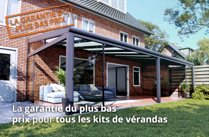 la garantie du plus bas prix verandas et portes de coulissantes en verre