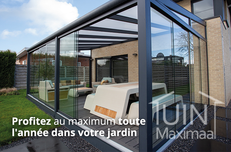 portes et baies coulissantes creme veranda tuinmaximaal
