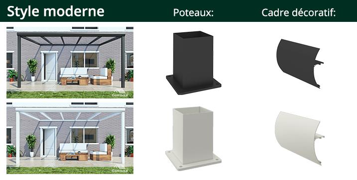 style moderne veranda gumax