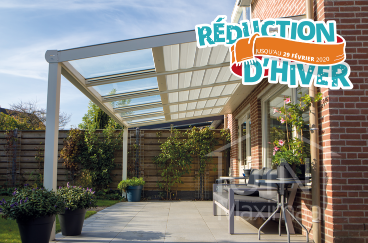 la protection solaire de véranda de terrasse