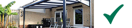 moderne veranda anthracite