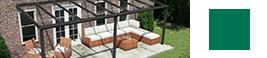 veranda anthracite ave toit en verre