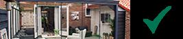 veranda anthracite classique