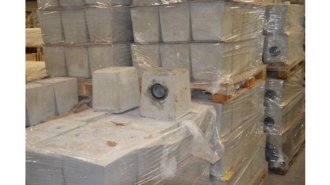 SET betonpoeren voor 3 staanders