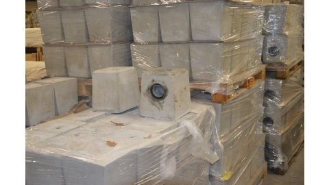 SET betonpoeren voor 4 staanders