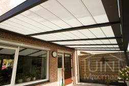 Gumax® Zonwering in mat antraciet van 5,06 x 3 meter