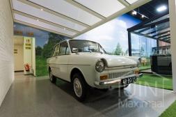 Moderne Gumax® Carport in mat crèmevan 5,06 x 3 meter met opaal polycarbonaat dakplaten inclusief Gumax LED verlichting