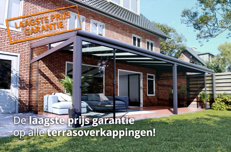 laagste prijs garantie terrasoverkappingen aanbod