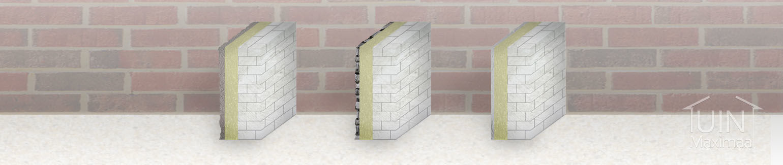 isolatiemateriaal buitenmuren