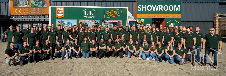 Groepsfoto team Tuinmaximaal