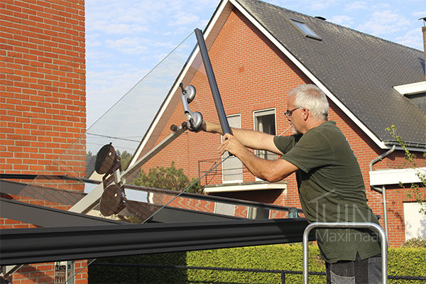 monteur tuinmaximaal terrasoverkapping